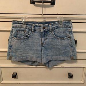 women's old navy denim boyfriend shorts